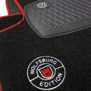 Alfombrillas Golf Mk1 logo Wolfsburg Edition
