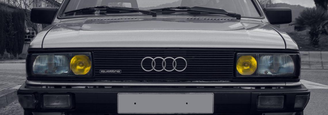 Audi 80 B2 Quattro 2.2 Turbo