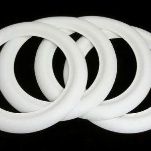 4 Bandas blancas para neumáticos