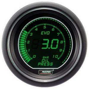 Manómetro Digital Pro-Sport Presión de Aceite