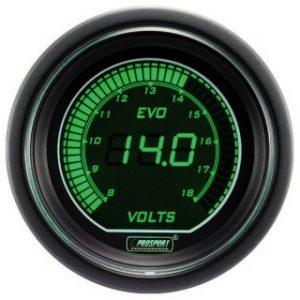Manómetro Digital Pro-Sport voltimetro