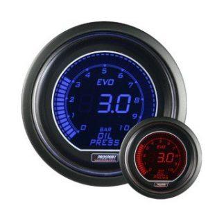 Manómetro Digital Pro-Sport presión aceite